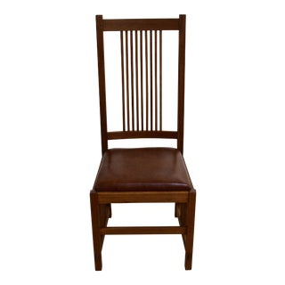 Stickley Prairie-Style Back Dining Chair
