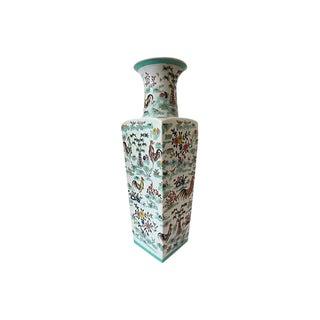 Famille Rose Rooster Vase