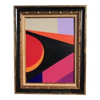 Original Mid-Century Abstract Expressionist Painting
