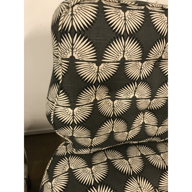 Vintage Mid-Century Slipper Chairs - A Pair - Image 8 of 9