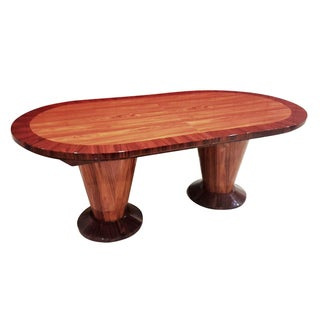 Burl Wood Conference or Dining Table