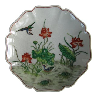 Vintage Chinoiserie Plate