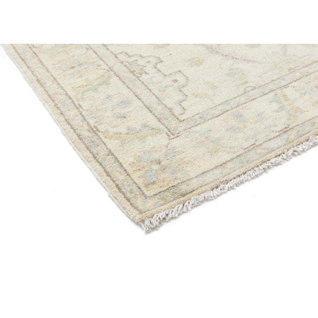 "New Oushak Hand Knotted Runner - 2'7"" x 9'4"" - Image 2 of 3"
