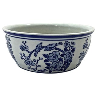 Asian Blue & White Planter