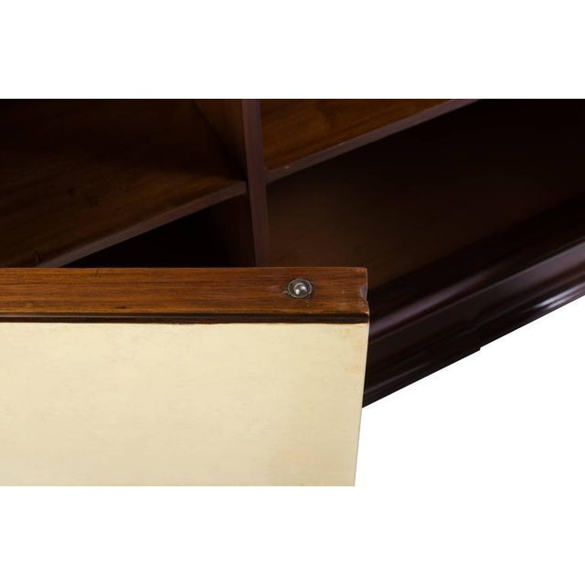 Art-Deco Vellum & Mahogany Sideboard Attributed to Paul Dupré-Lafon - Image 7 of 7