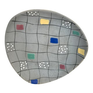 Vintage Memphis Group Style Platter