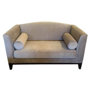 Decor-Rest Furniture Taupe Sofa