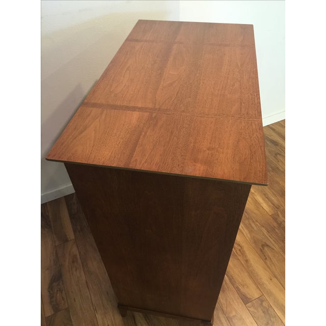 Image of Heritage Henredon Mid-Century Highboy Dresser