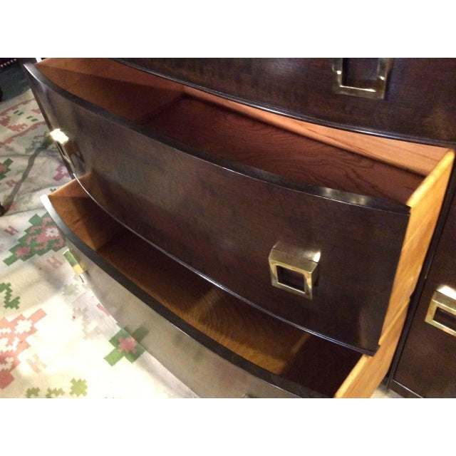 Mid-Century Bow Fronted Chest of Drawers - Image 8 of 10