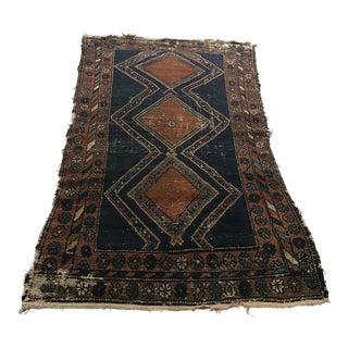 Antique Persian Hamedan Rug - 3'9 X 6'3
