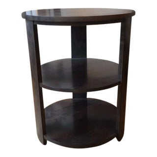 Harden 2 Tiered Round End Table Showroom Sample