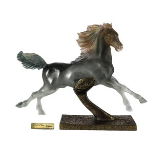 Pate De Verre Sculpture of a Horse