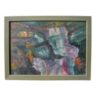 Mid-Century American Abstract Painting