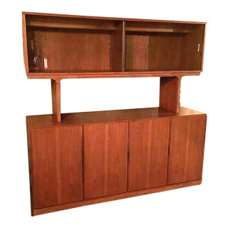 Skova Dixie Solid Teak Sideboard & Hutch