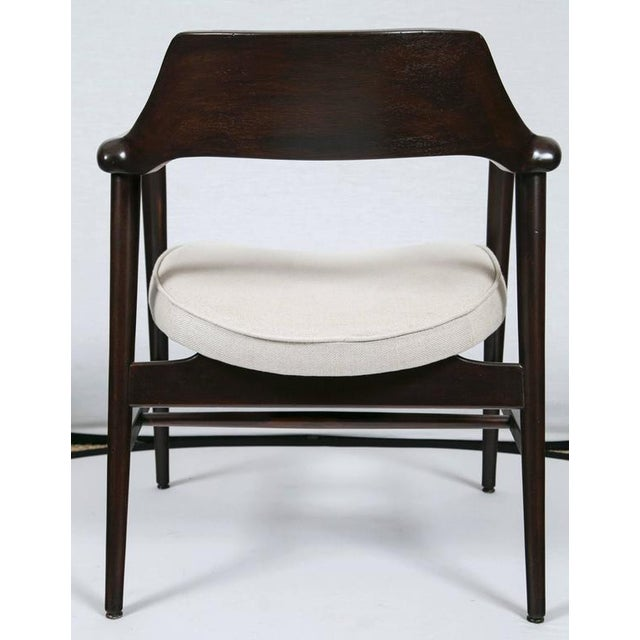 Gunlocke Wood Framed Armchair - Image 7 of 10