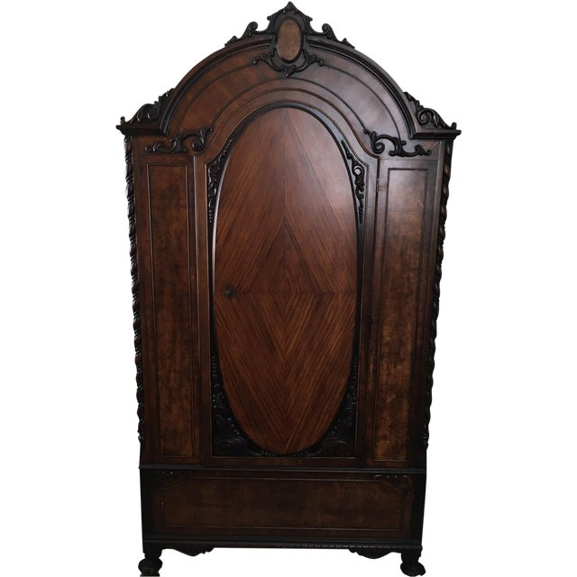 Early 20th-Century Armoire - Image 1 of 9