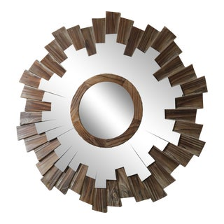 Driftwood Convex Sunburst Mirror