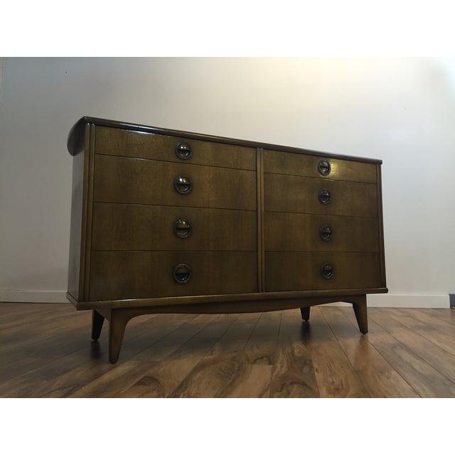 Landstrom Furniture Mid-Century Walnut Dresser - Image 8 of 11