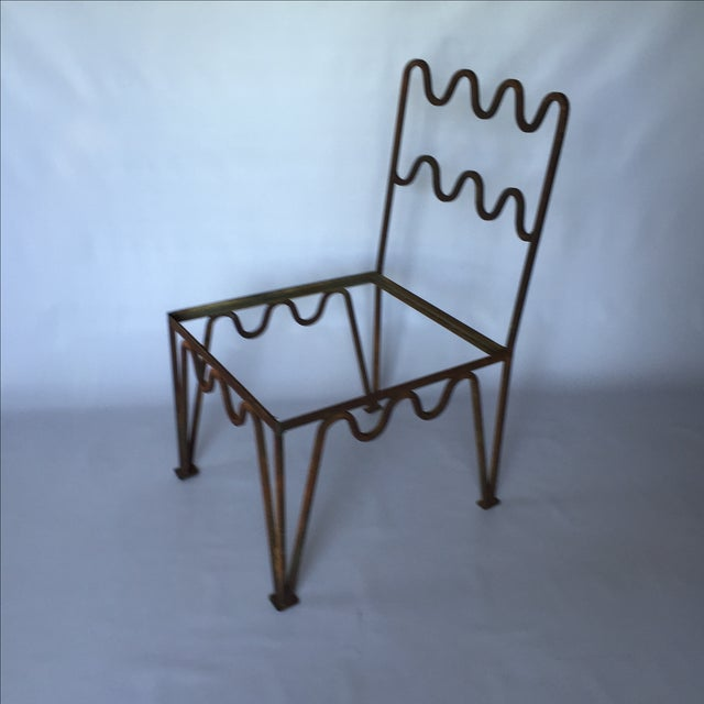 1940s Sculptural Modernist Iron Patio Chairs - 4 - Image 2 of 11