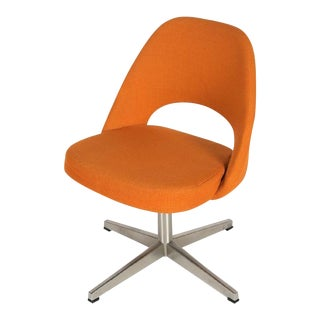 Eero Saarinen for Knoll X-base Swivel Side Chair