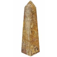 Mid-Century Polished Onyx Obelisk - Image 1 of 4