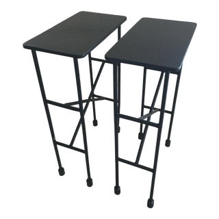 Pottery Barn Zane Accent Tables - A Pair