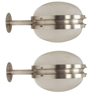 C. 1960s Sergio Mazza 'Gamma' Lights for Artemide - A Pair