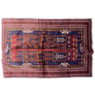 Afghan City Rug - 4′3″ × 6′7″