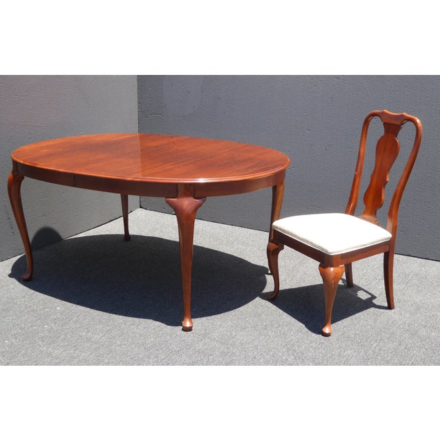 American of Martinsville Dining Room Table - Image 7 of 11