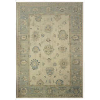 Turkish Oushak Rug- 12'x18'9''