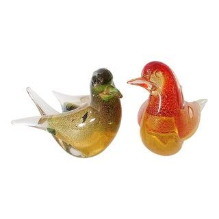 Murano Birds - Pair