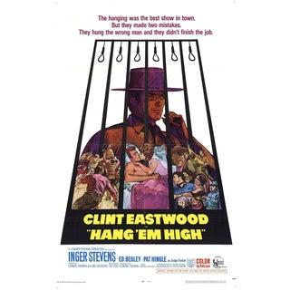 Hang'em High 1968 Poster