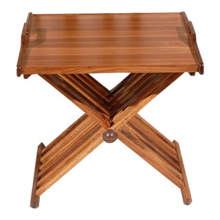 """Edward"" Folding Tray Side-Table By Lawson-Fenning"