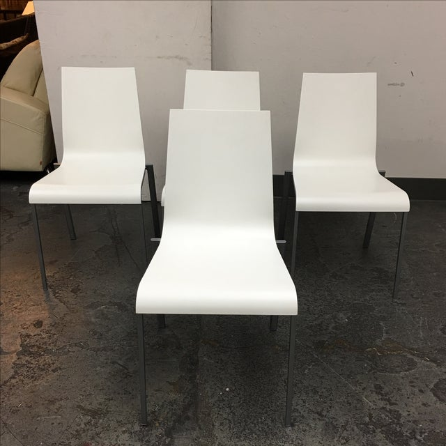 Ligne Roset Zoe Chairs - 4 - Image 2 of 8