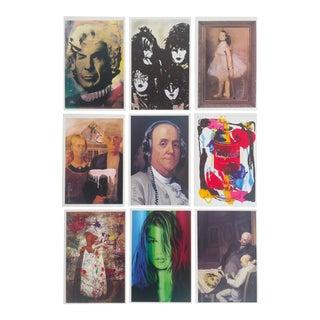 Mr. Brainwash Pop Art Exhibition Event Postcard Prints - Set of 9