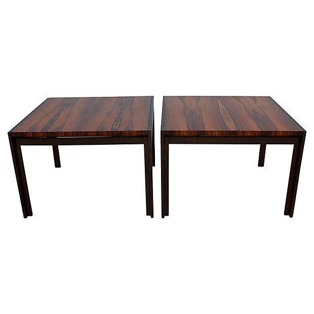 Baker Rosewood Tables - A Pair - Image 7 of 9