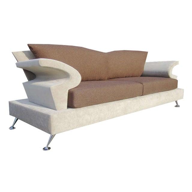 Sculptural Memphis Style Sofa by B&B Italia - Image 2 of 7