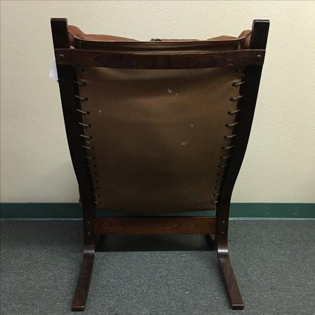 Westnofa Leather Siesta Chair - Image 4 of 11