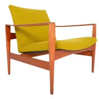 Illum Wikkelsø Teak Lounge Chair