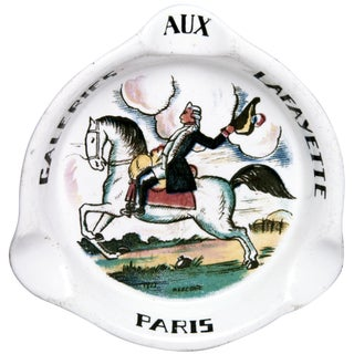Vintage French Galeries Lafayette Ashtray
