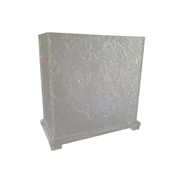 Lucite Ice Waste Bin - Image 2 of 6