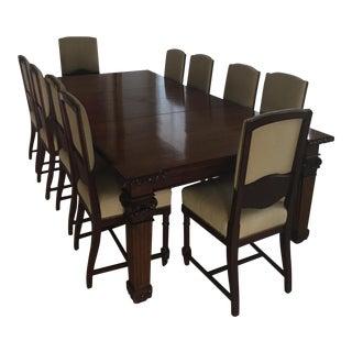 19th Century Mahogany Dining Set
