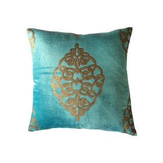 Velvet Embossed Pillow Cover