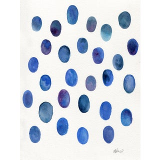 "Ellen Sherman ""Drops of Lapis "" Original Painting"
