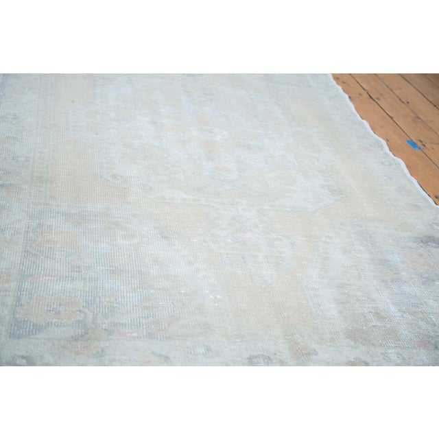 "Distressed Oushak Rug - 4'4"" X 7'1"" - Image 4 of 10"