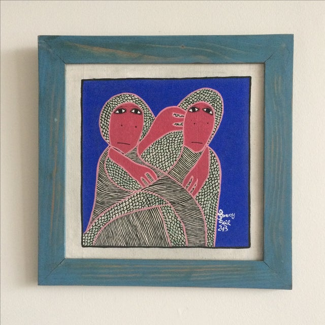 Framed Painting by Levoy Exil - Image 2 of 8