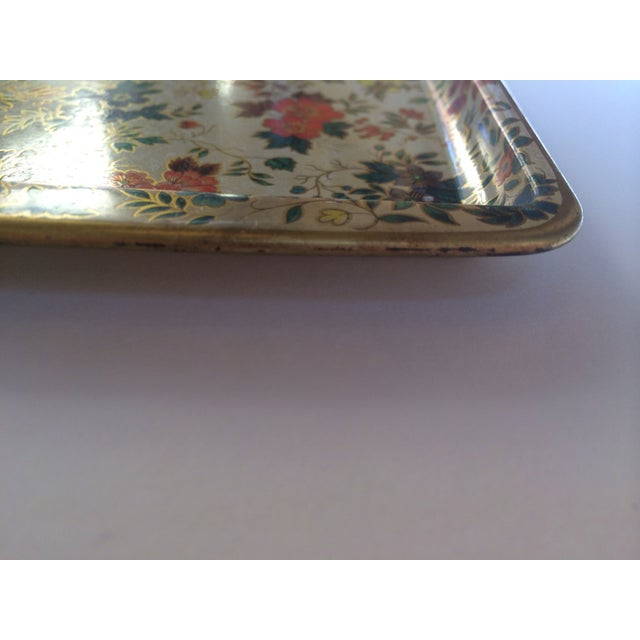 Dasher Decorated Ware Floral Tray - Image 4 of 8