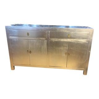 Modern Silver Dresser