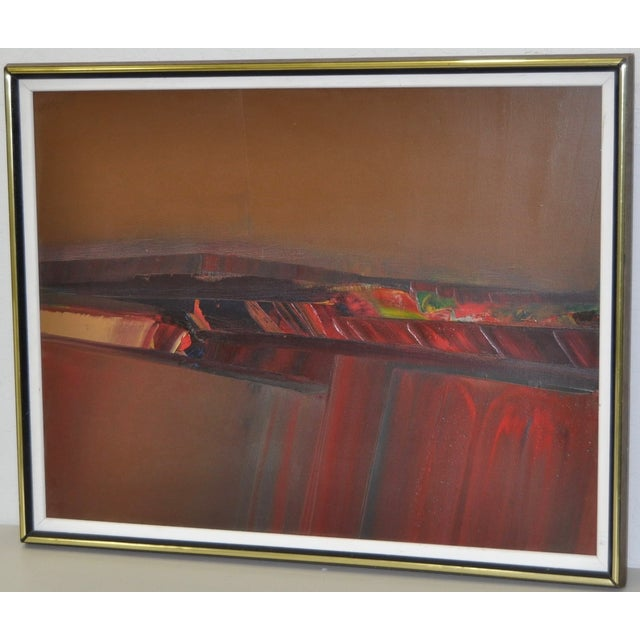 Don Clausen Abstract Expressionist Painting C.1980 - Image 3 of 7