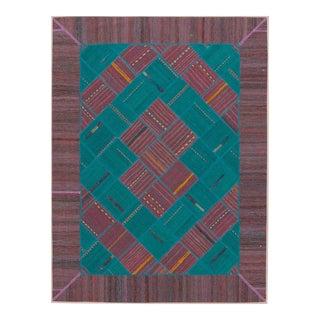 """Apadana - Persian Flat-Weave, 4'11"""" X 6'6"""""""
